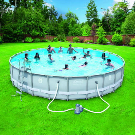 Coleman 26 x52 power steel frame above ground swimming - Above ground swimming pools reviews ...
