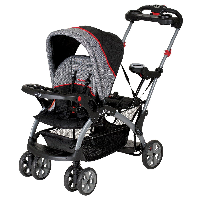 Baby Trend Sit N' Stand Platform Canopy Ultra Stroller, Millenium | SS66773
