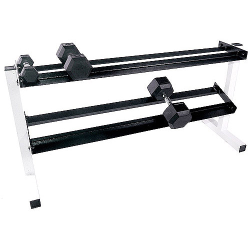 "CAP Barbell 50"" 2-Tier Dumbbell Rack"
