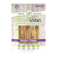 "Nature Gnaws Tendon Chews 4-5"", 12 Count"