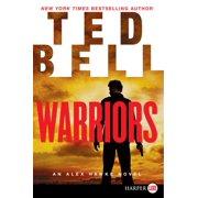 Alex Hawke Novels: Warriors: An Alex Hawke Novel (Paperback)(Large Print)
