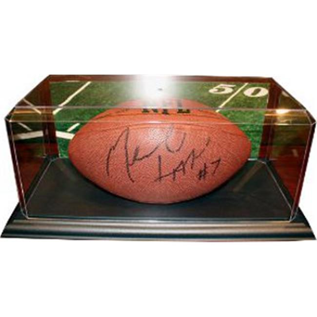 Athlon CTBL-009817 Football Unsigned Display Case with Black Base