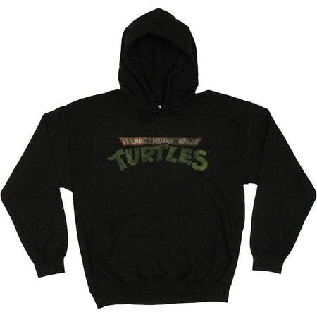 Ninja Turtles Vintage Logo Hoodie (Ninja Turtle T Shirt)