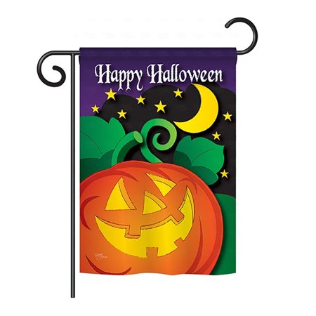 Halloween Night Garden Flag 13