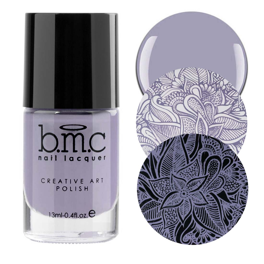 BMC Snowflake Waltz Nail Stamping Polish Collection (B226 to B230) - Nutcracker Ballet Christmas Inspired Creative Nail Art Laquer