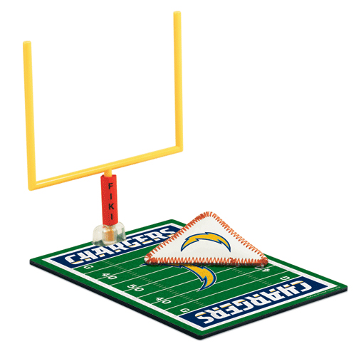 San Diego Chargers FIKI Tabletop Football Game