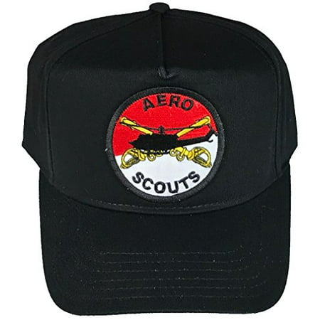 US ARMY AERO SCOUTS AIR CAVALRY HELICOPTER HAT - BLACK - Veteran Owned Business](Scout Helicopter)