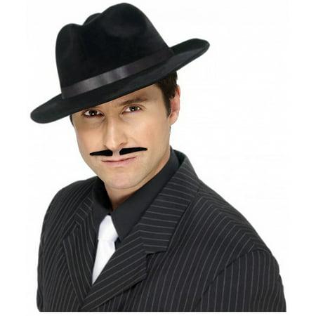Black Moustache Adult Costume Accessory