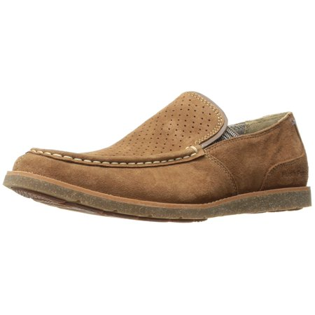 Hush Puppies Men's lorens Jester Slip-On Loafer, Rust Suede, 12 W - Hush Puppies Zappos