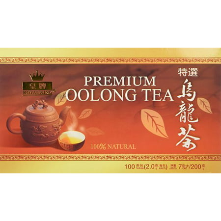 Vintage Oolong Tea - Royal King Premium Oolong Tea 100 Tea Bags