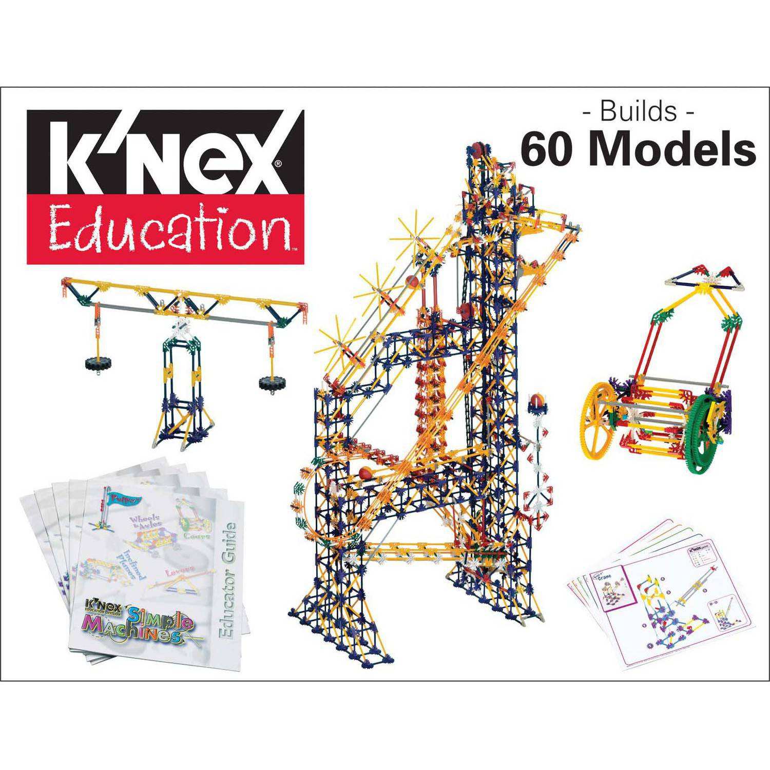 K'NEX Education: Simple Machines Deluxe Building Set