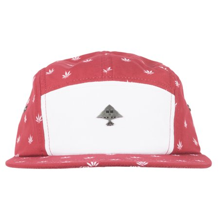 9e633bf7490 Lrg - LRG Lifted Research Group Lifted Liberty 5-Panel Strapback Hat Mens  Red - Walmart.com