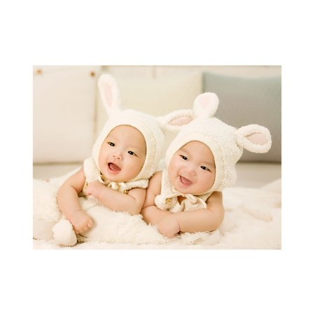 100 Day Poster Ideas (LAMINATED POSTER Twins 100 Days Photo Baby Poster Print 24 x)