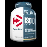 Dymatize ISO 100 Hydrolyzed 100% Whey Protein Isolate Powder, Gourmet Vanilla, 25g Protein/Serving, 5 Lb