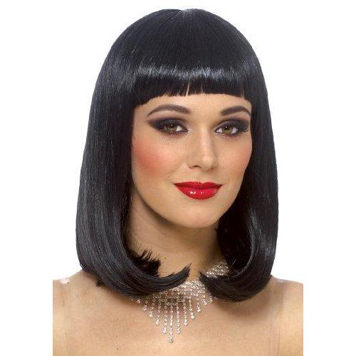 Peggy Sue Wig in Black, One size Franco American Novelty 24517-01 Black O/S, O/S