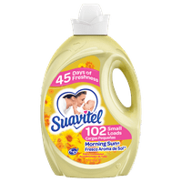 Suavitel Fabric Softener, Morning Sun - 135 fluid ounce