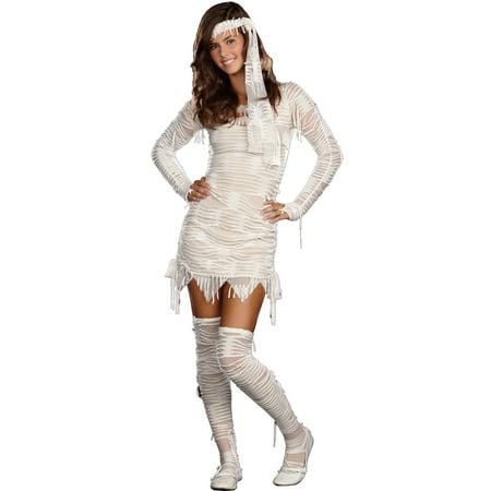 Yo Mummy Teen Costume (Mummy Costume Pregnant)