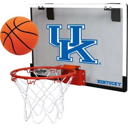 University Of Kentucky Wildcats Indoor Basketball Goal Hoop Set