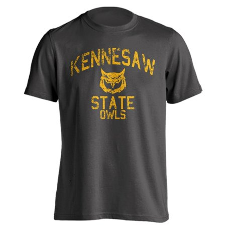 Kennesaw State University Owls KSU Distressed Retro Short Sleeve T-Shirt](Sports Authority Kennesaw)