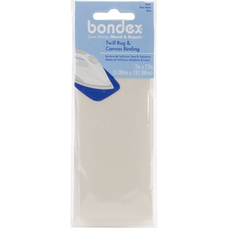 Bondex Iron-On Twill Rug & Canvas Binding 2