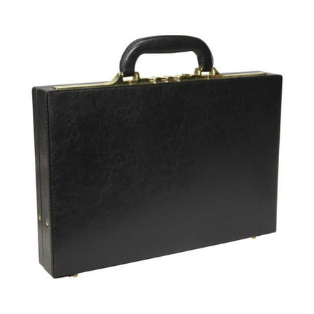 AmeriLeather Slim Executive Faux Leather Attache (Leather Attache)