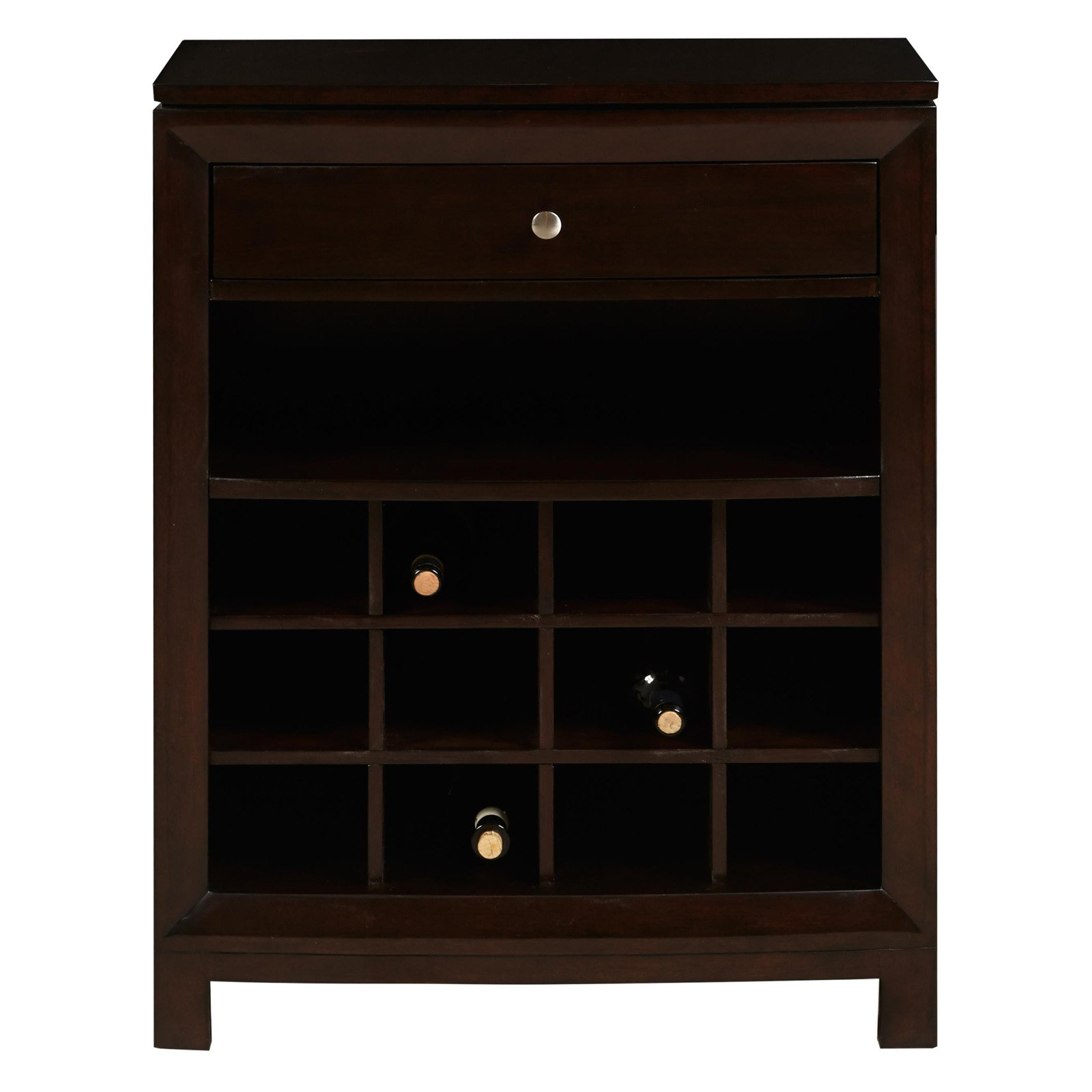 Wine Cabinet, Dark wood