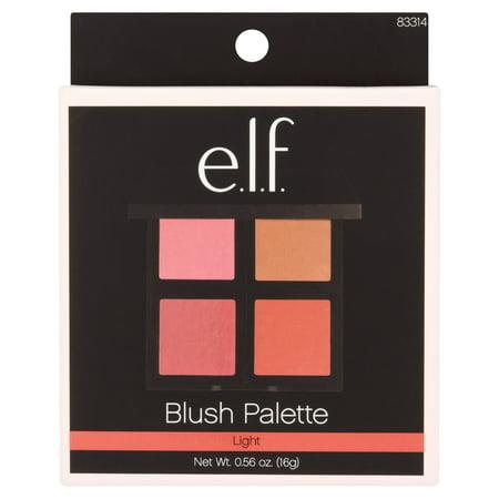 E L F  Blush Palette  Light  0 14 Oz