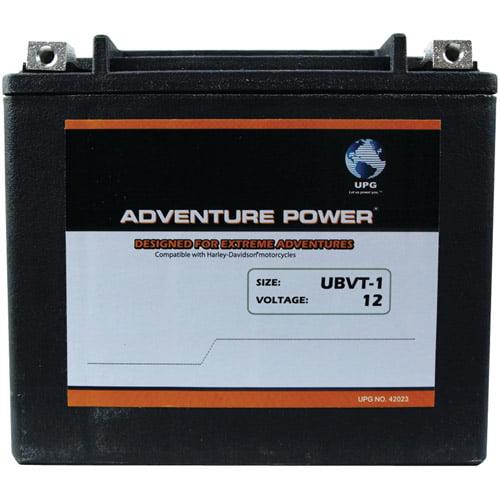 UPG 42023 UBVT-1, Sealed AGM V-Twin Power Sports Battery