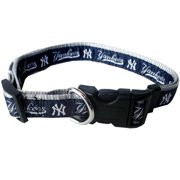 Pets First MLB New York Yankees Dogs and Cats Collar - Heavy-Duty, Durable & Adjustable - Large