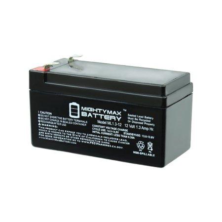 Rechargeable Backup Battery (12V 1.3Ah Sealed Lead Acid Rechargeable Medical Alarm Backup)