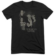 The Munsters American Gothic Mens Tri-Blend Short Sleeve Shirt