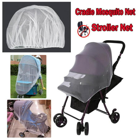 Domqga Baby Stroller Mosquito Net, Mosquito Bug Net Insect Netting Cover for Baby Stroller Pram, Buggy, Infant Carriers, Car Seats, Cradles, Cribs, Bassinets, Playpens, Insect Netting Full Mesh Cover Baby Stroller Mosquito Bug Net Insect Netting Cover for Pram, Buggy, Infant Carriers, Car Seats, Cradles, Cribs, Bassinets, Playpens, Portable & Durable Baby Insect Netting Full Mesh CoverDo you want to give your child more opportunities to get in touch with nature and enjoy the outdoors? The stroller rain cover will help you. Imagine you could enjoy the outdoors with your baby without worrying about pesky bugs and creepy insects. With the Mosquito Nets for Strollers, this is not only possible, its a reality. Featuring small ventilation holes that ensure an excellent air flow, this hassle-free stroller mosquito cover.Description:Made of 100% polyester with breathable fabric, ultralight, strethchy and durable, no deet or any other chemical repellents, no worry to babies' safety anymore.The baby mosquito net with precision perforated and ventilation holes for a breathable mesh that allowing great airflow in for babies and toddlers.The baby mosquito net offers 100% protection against bugs, bees, mosquitos & flying insects. Reduce the useing of mosquito repellents (chemicals).The insect net protects your precious against nasty insect bites and disease. Keep your baby safe and enjoy outdoor times.The insect net was specially tailored and tested to fit snug and secure on strollers, carriers, car seats, cradles and most of packnplays, cribs, bassinets & playpens. You can also use it on your jogger stroller.Stretchy and easy to use, the bug net for baby fits strollers, baby buggies, carriers, baby joggers, cradles, baby prams, car seats, and most bassinets, sleeping beds, pack and plays, cribs, and playpens, etc.The best gift for a newborn. A durable solution for boys and girls to control pesky insects.Package Included:1 x Mosquito Baby Net