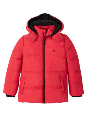 Boy's Logo Puffer Jacket
