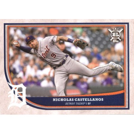 2018 Topps Big League #242 Nicholas Castellanos Detroit Tigers Baseball Card - *GOTBASEBALLCARDS