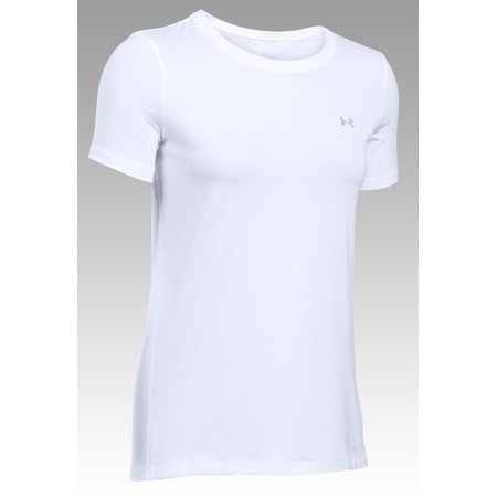 Womens Under Armour 1285637 HeatGear Short Sleeve Crew Neck Shirt - Heatgear Short Sleeve Shirt