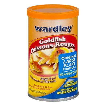 (3 Pack) Wardley Goldfish Flakes, Goldfish Food- 1.0-oz
