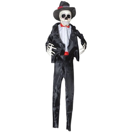 Day of the Dead Skeleton Groom Halloween Decoration
