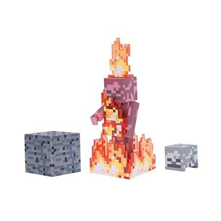Skeleton Figure (Skeleton On Fire Minecraft)