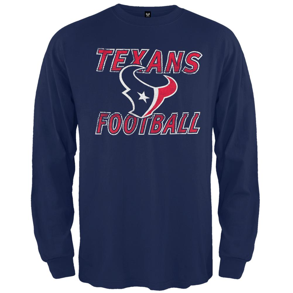 Houston Texans - Flanker Logo Premium Long Sleeve T-Shirt
