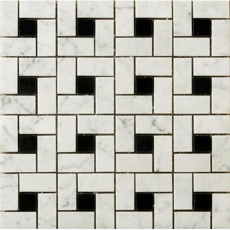 Emser Tile M05bian1212mph Marble - Black