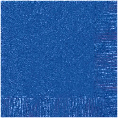 Royal Blue Luncheon Napkins, 20pk