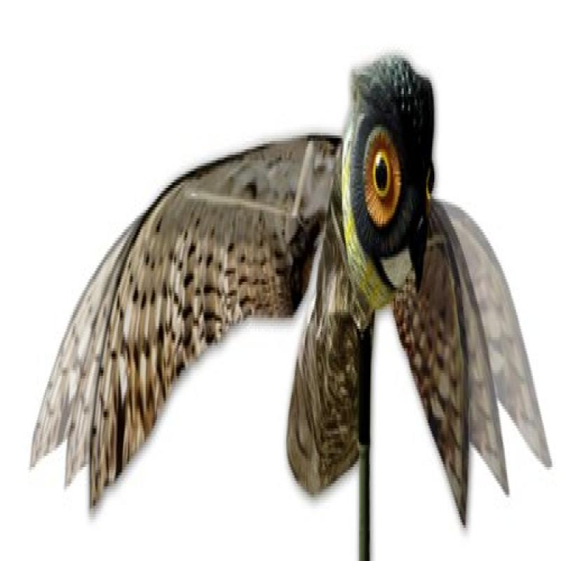Bird-X Prowler Owl Decoy with Moving Wings Realistic Bird...