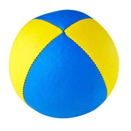 Amazing Henrys Juggling Beanbag Superior Velour 67Mm 1 Single Juggling Ball Blue Yellow Dailytribune Chair Design For Home Dailytribuneorg