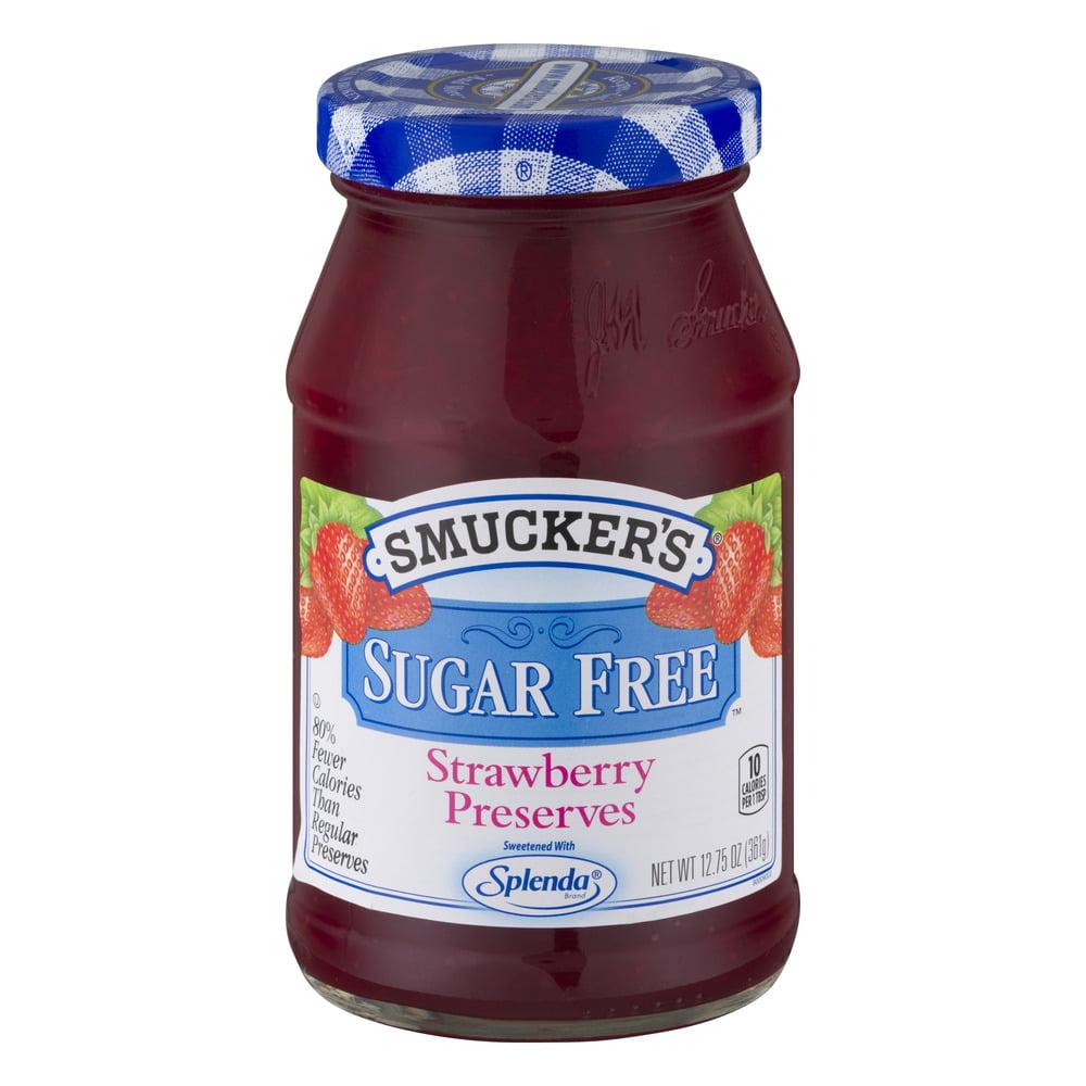 Smucker's Sugar Free Preserves Strawberry, 12.75 OZ