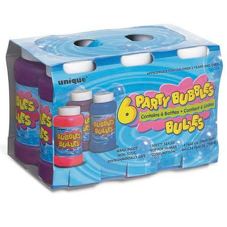 Bubble Bottle Party Favors  6Ct