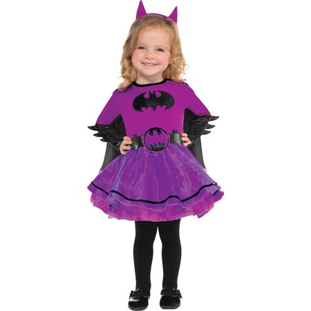 Suit Yourself Purple Batgirl Halloween Costume for Babies, Batman, Includes Accessories - Toad Halloween Costume For Baby