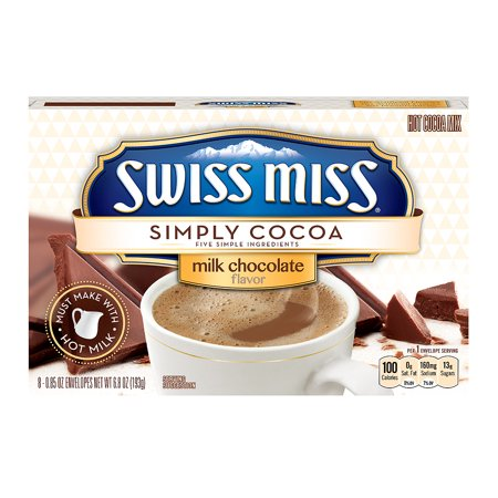 Swiss Miss Simply Cocoa Milk Chocolate