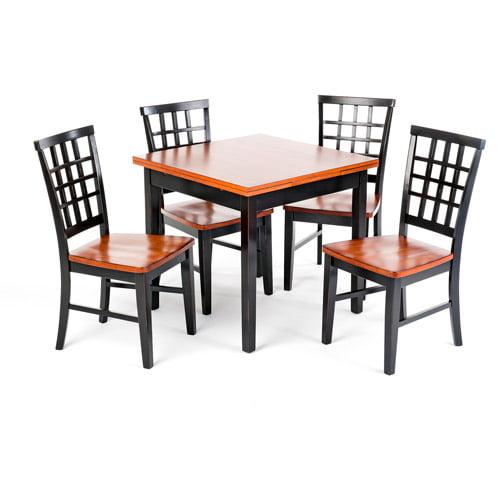 Imagio Home Arlington Refectory Dining Table, Black   Java by