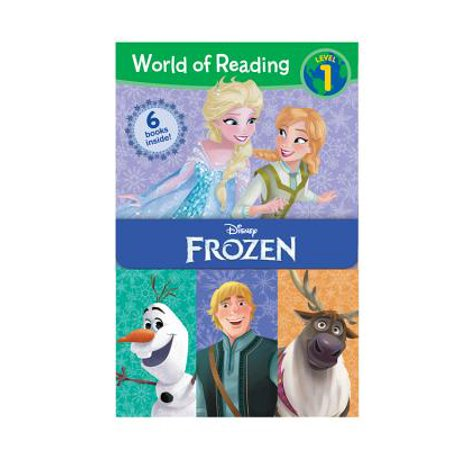 World of Reading Frozen Boxed Set : Level 1