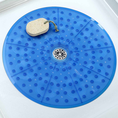 Slipx Solutions Essential Round Shower Mat Walmart Com